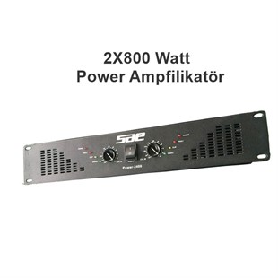 Sae Power 2500 - 2x800 Watt Power Anfi